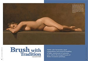 Brush with Tradition featuring Robert Armetta