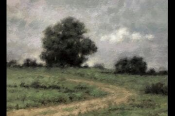 """A Gray Day"" Oil on Canvas 11 x 14 by Robert Armetta"