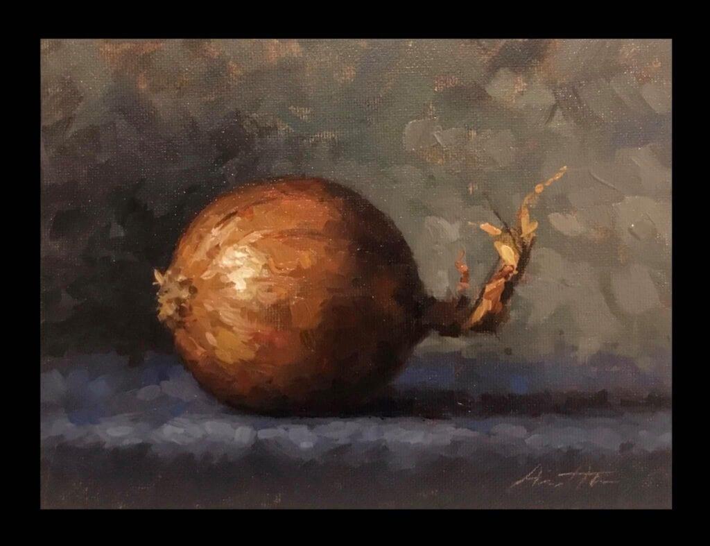 Onion - Oil on Canvas - By Robert Armetta